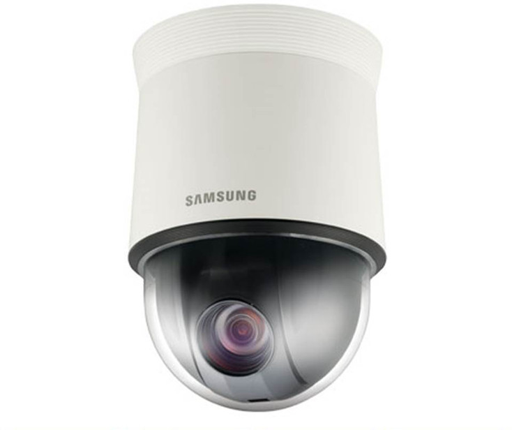 Samsung HCP-6320A 2MP Outdoor PTZ Dome CCTV Analog Security Camera - 1/2.8'' CMOS, WDR, 32x Optical Zoom