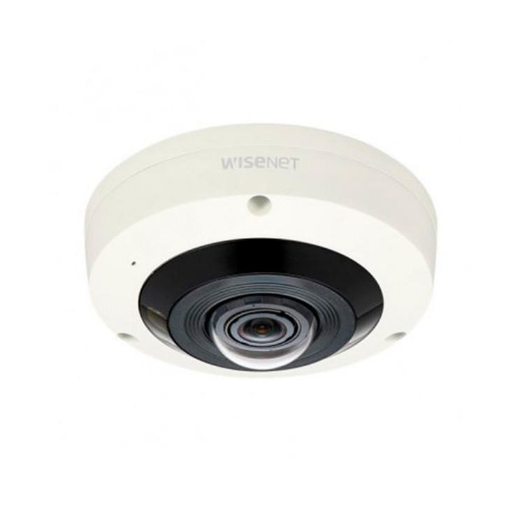 Samsung XNF-8010RV 6MP IR H.265 Outdoor Fisheye IP Security Camera - Motion Detection