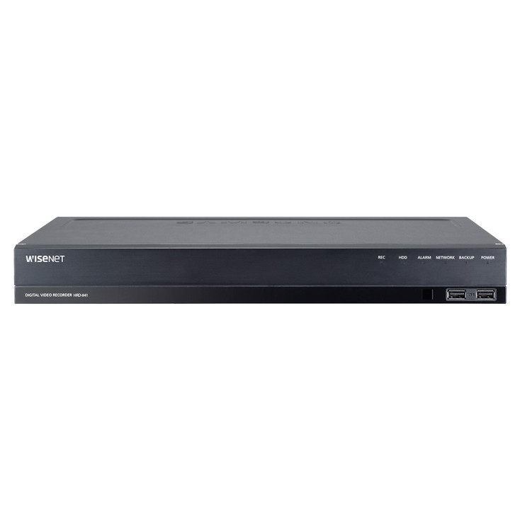 Samsung HRD-841-12TB 8 Channel 4MP Analog HD DVR Digital Video Recorder - 12TB HDD included