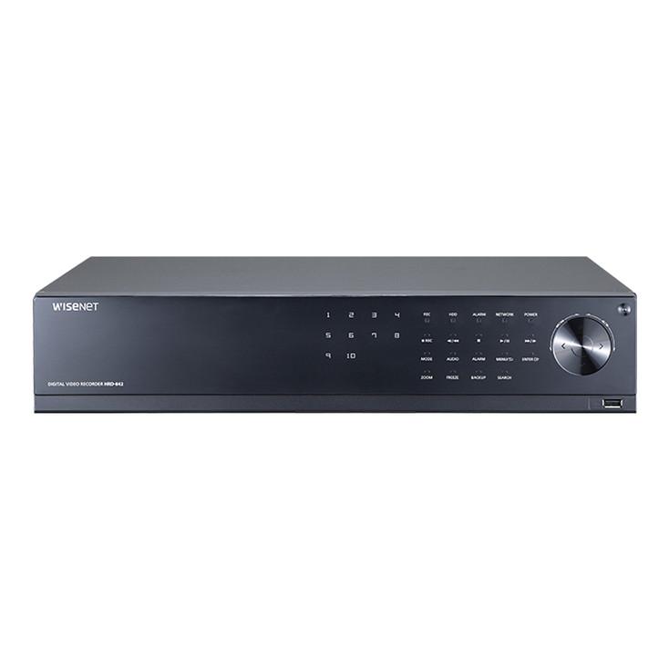 Samsung HRD-842-12TB 8CH 4M Analog HD DVR Digital Video Recorder - 12TB HDD included