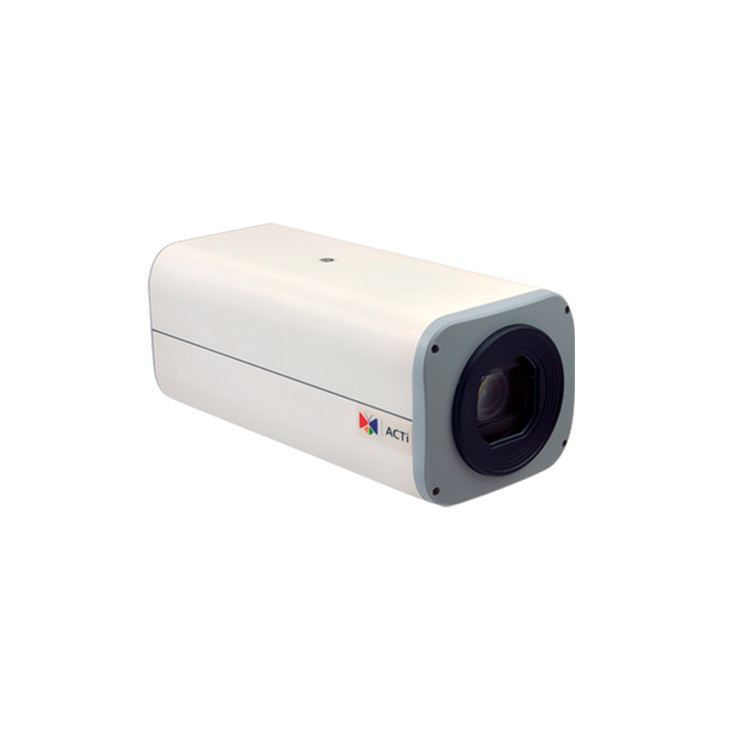 ACTi B26 3MP H.265 Indoor Zoom Box IP Security Camera with 36x Optical Zoom