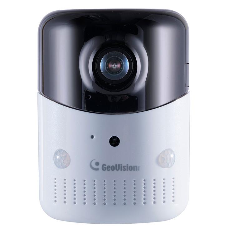 Geovision OPAL S1 Plus 4MP IR Wireless Fisheye IP Security Camera 84-OPAL000-0010 - Cloud Storage