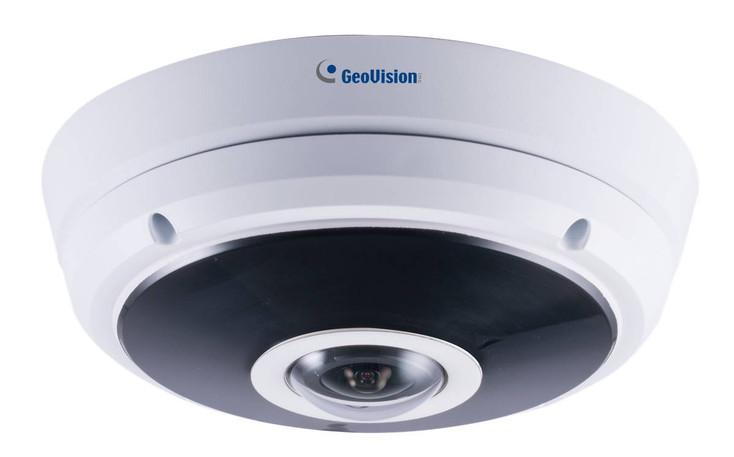 Geovision GV-EFER3700 3MP H.265 IR Outdoor Fisheye Rugged IP Security Camera 84-EFR3700-P010