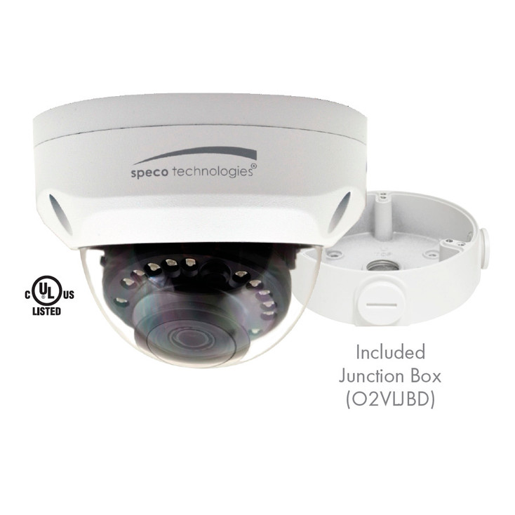 Speco VLD2A 2MP IR Outdoor Dome Multi-format HD Analog Security Camera
