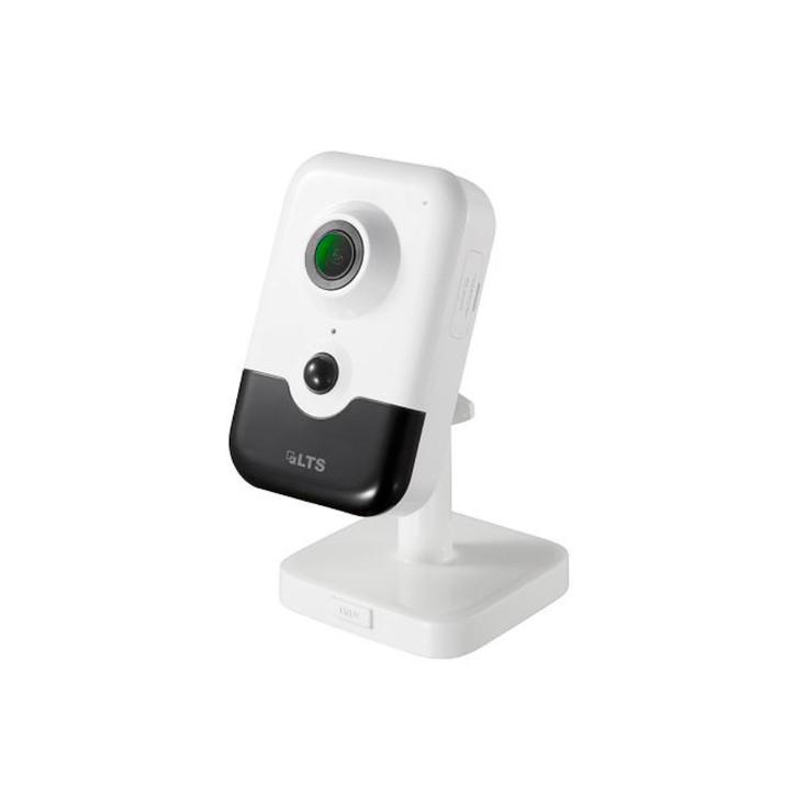 LTS CMIP8942NW-28SWIFI 4.1MP IR H.265 Indoor Wireless Cube IP Security Camera