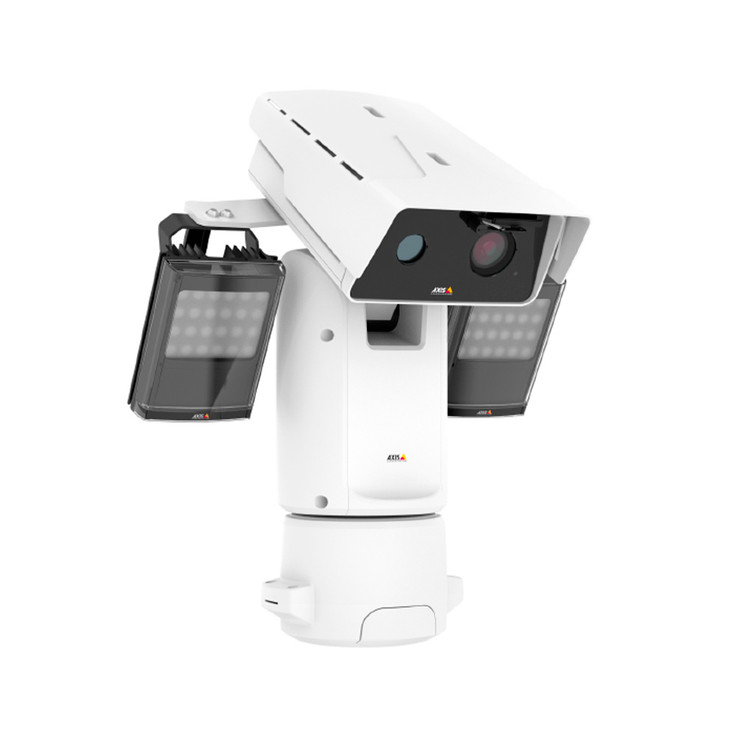 AXIS Q8742-LE Zoom 30fps 24V Thermal Bispectral PTZ IP Security Camera 01019-001 - Built-in IR Illuminator