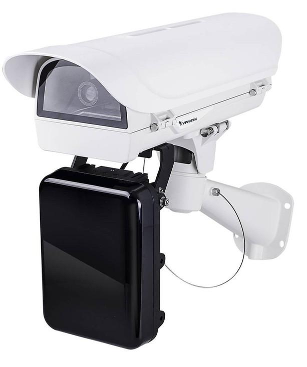 Vivotek IP9165-LPCKIT-H License Plate Capture IP Security Camera with CA80I8-2040 IR for Highways