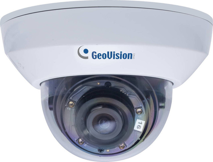 Geovision GV-MFD2700-0F 2MP IR H.265 Indoor Dome IP Security Camera - 2.8mm Fixed Lens