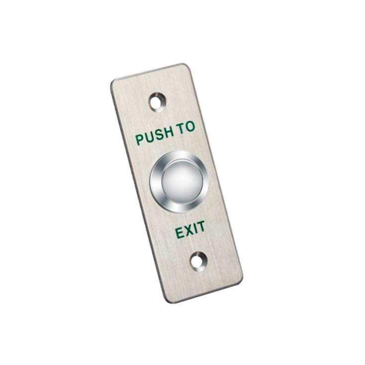 LTS LTKB02 Exit Button - Aluminum Alloy