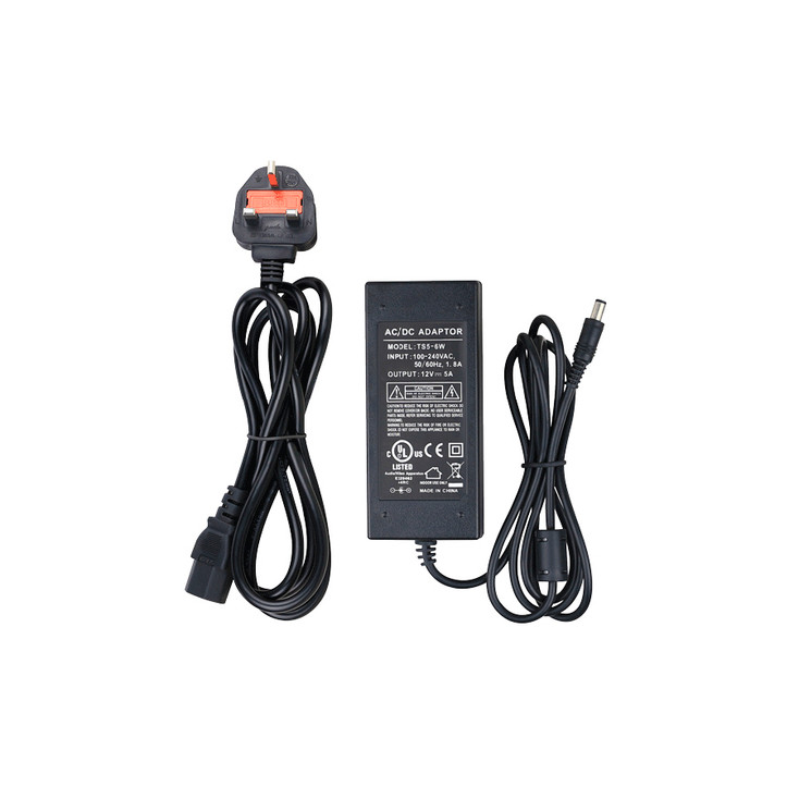 LTS TS5-6W 5amp Power Adapter - DC 12V