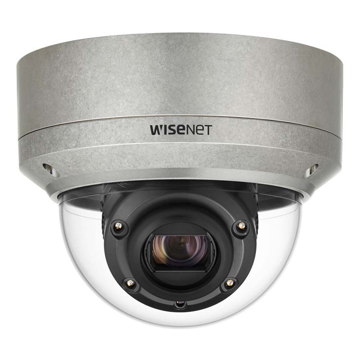Samsung XNV-6120RS 2MP IR H.265 Outdoor Dome IP Security Camera - Stainless Steel
