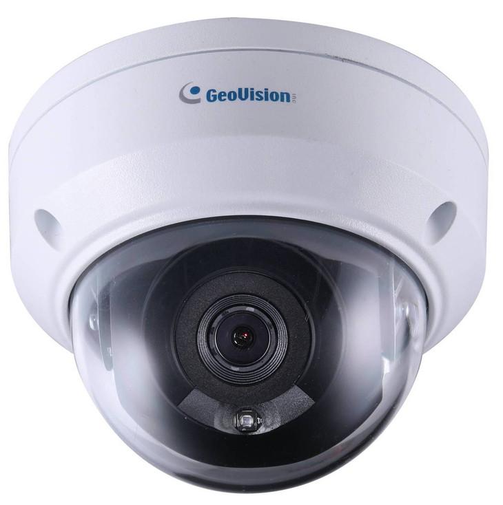 Geovision GV-ADR4701 4MP IR H.265 Outdoor Mini Dome IP Security Camera 84-ADR470W-0010