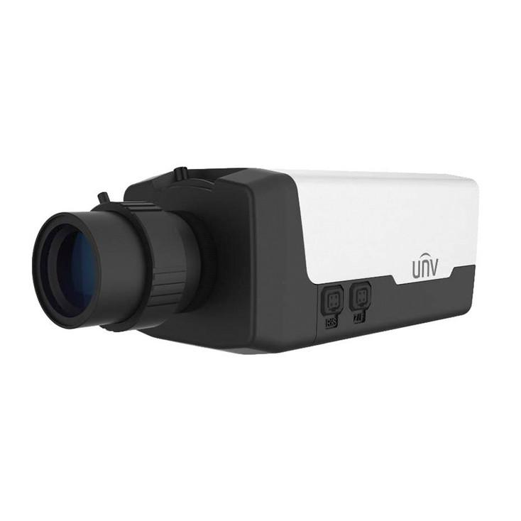 Uniview IPC568E-G 12MP 4K H.265 Indoor Box IP Security Camera - Optical SFP