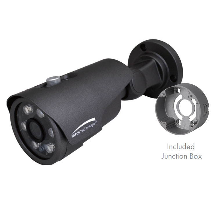 Speco VLT4BG 4MP IR Outdoor Bullet HD-TVI Security Camera