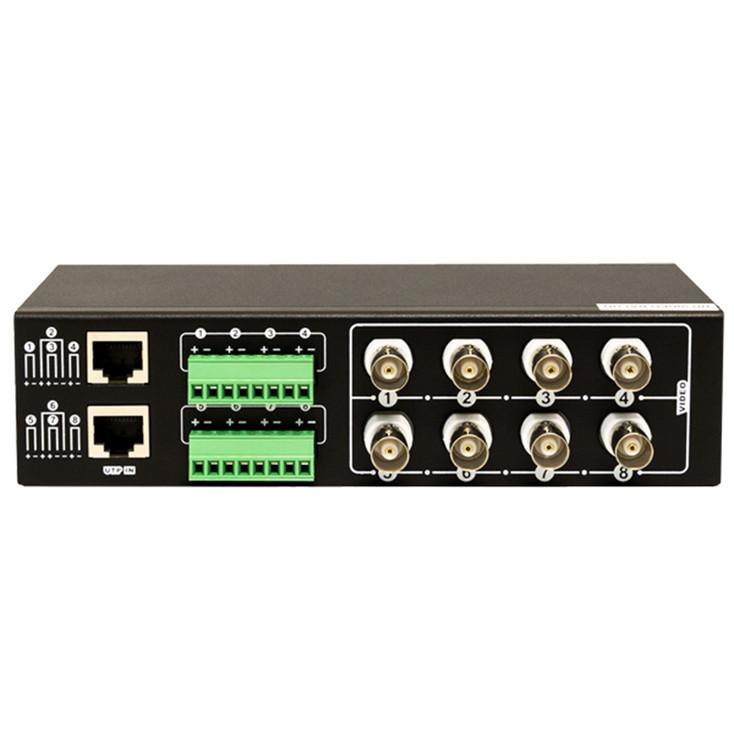 LTS LTAB5008 8 Channel HD Passive Video Balun
