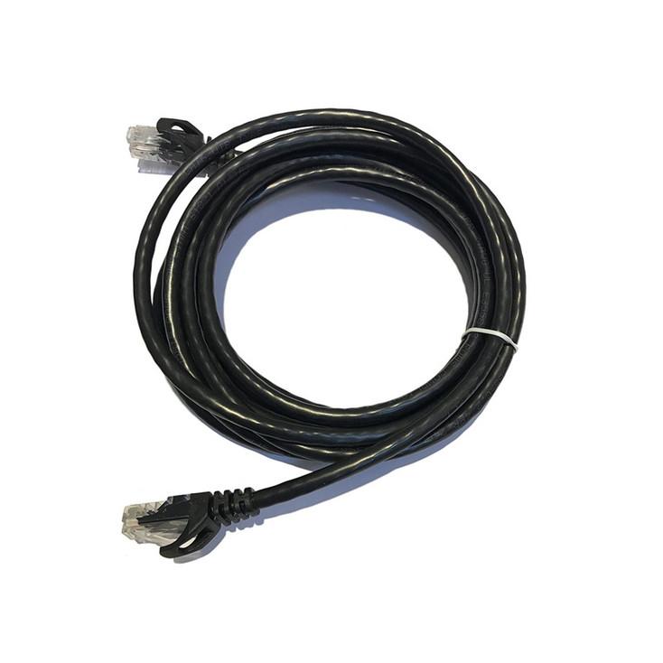 LTS LTPC6010B-CMR 10FT Cat6 Patch Cable Black