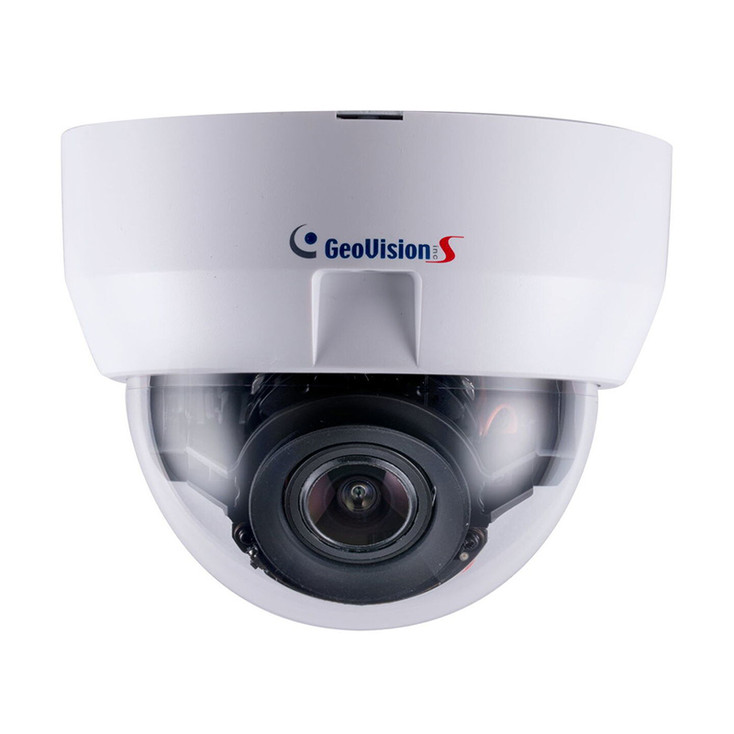 Geovision GV-MD8710-FD 8MP IR H.265 4K Indoor Dome IP Security Camera 84-MD87100-0D010