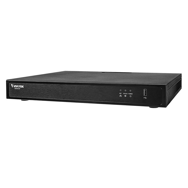 Vivotek ND9424P 16 Channel H.265 Network Video Recorder - No HDD included