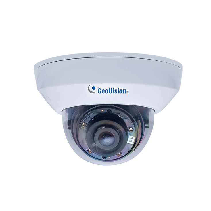 Geovision GV-MFD4700-6F 4MP H.265 IR Indoor Mini Dome IP Security Camera