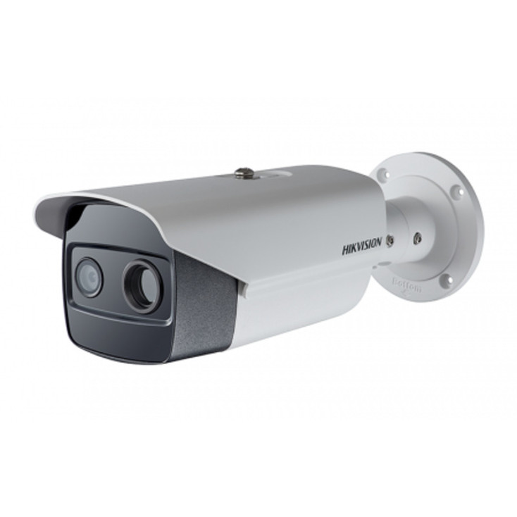 Hikvision DS-2TD2636-15 Thermal and Optical Bi-Spectrum Bullet IP Security Camera