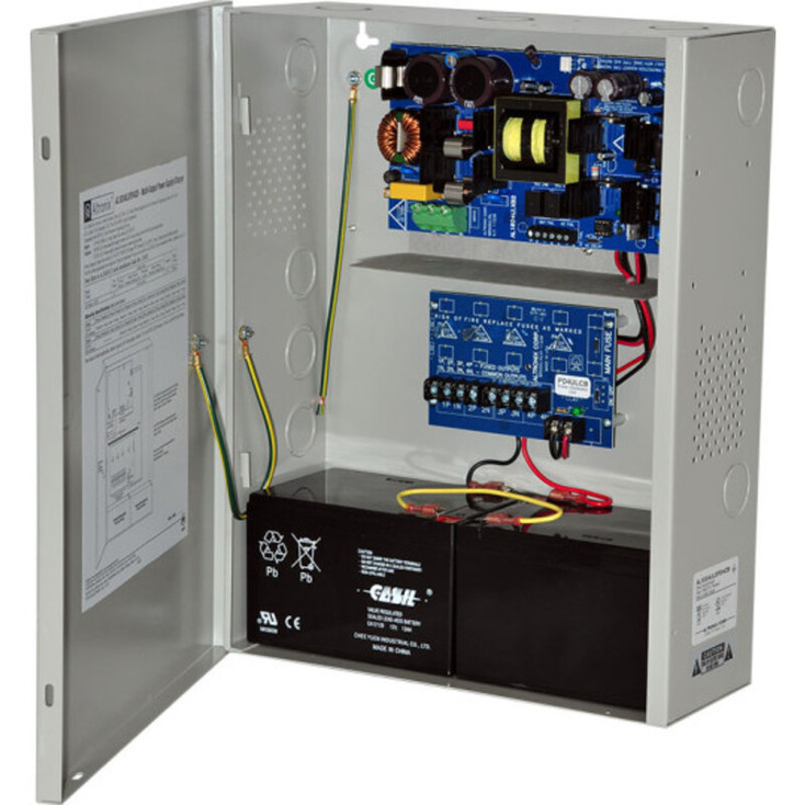 Altronix AL1024ULXPD4CB Power Supply Charger - 4 PTC Class 2 Outputs