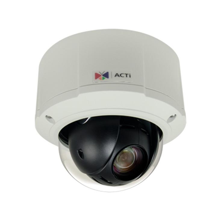 ACTi B912 5MP H.265 Outdoor Mini PTZ IP Security Camera with 10x Optical Zoom