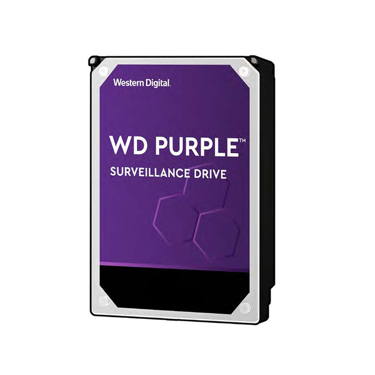 "Western Digital WD82PURZ 3.5"" 8TB Purple Surveillance Hard Drive"