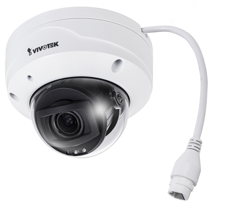 Vivotek FD9368-HTV 2MP IR H.265 Outdoor Dome IP Security Camera with 4x Optical Zoom