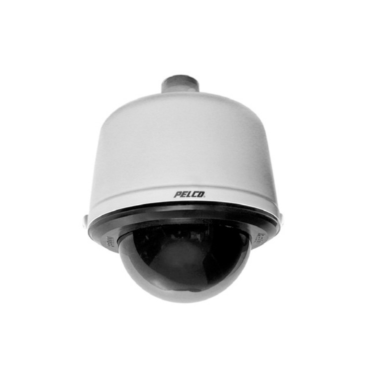 Pelco SD530-PG-E1 740TVL Outdoor PTZ CCTV Analog Security Camera with Clear Dome and 30x Zoom
