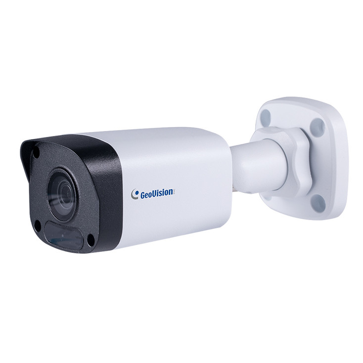 Geovision GV-TBL2703-0F 2MP IR H.265 Outdoor Bullet IP Security Camera with 4mm Fixed Lens