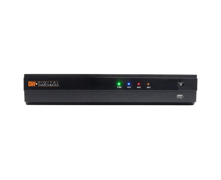 Digital Watchdog DW-VP163T16P 16 Channel NVR with 16 PoE and 3TB HDD included