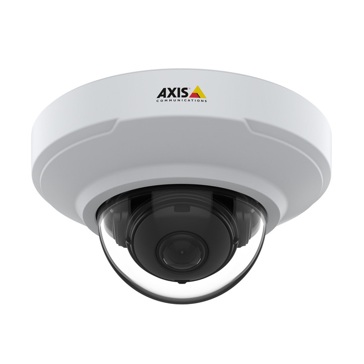 AXIS M3066-V 4MP H.265 Indoor Mini Dome IP Security Camera with HDMI