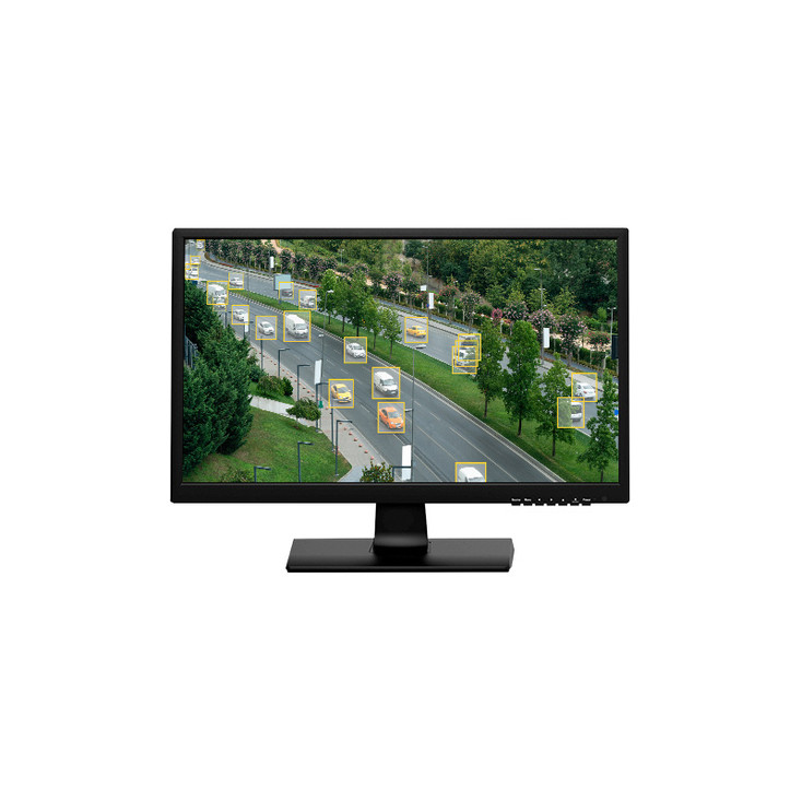 """W Box Technologies 0E-19VGHDMI2 19"""" 1366x768p LED Color Monitor with VGA and HDMI Cables Included"""