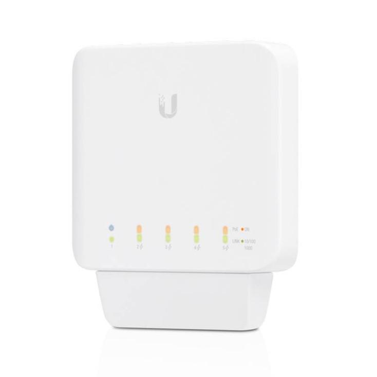 Ubiquiti USW-Flex 5-Port Managed PoE Switch with (1) 802.3at/bt (PoE+/PoE++)