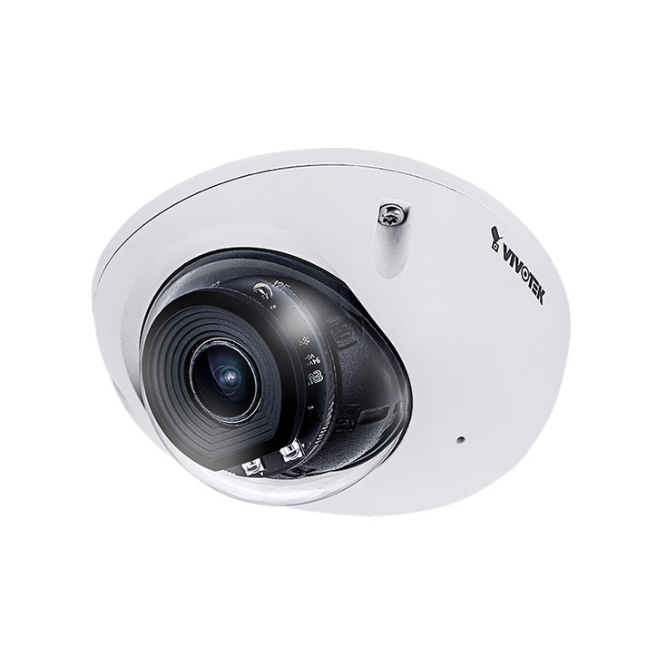 Vivotek FD9366-HVF2 2MP IR H.265 Outdoor Dome IP Security Camera with 2.8mm Fixed Lens