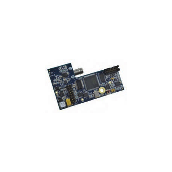 Pelco FSV10D1S1ST Single Mode Fiber Transmitter with Bi-directional Data, ST Type