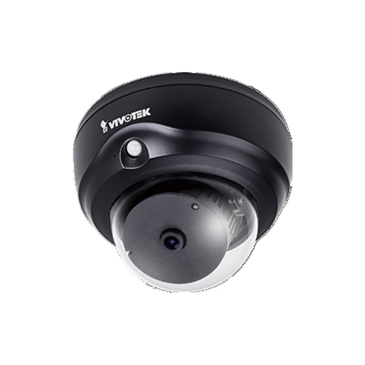 Vivotek FD8182-F1-B 5MP Ultra Wide Angle Indoor Dome IP Security Camera - Black