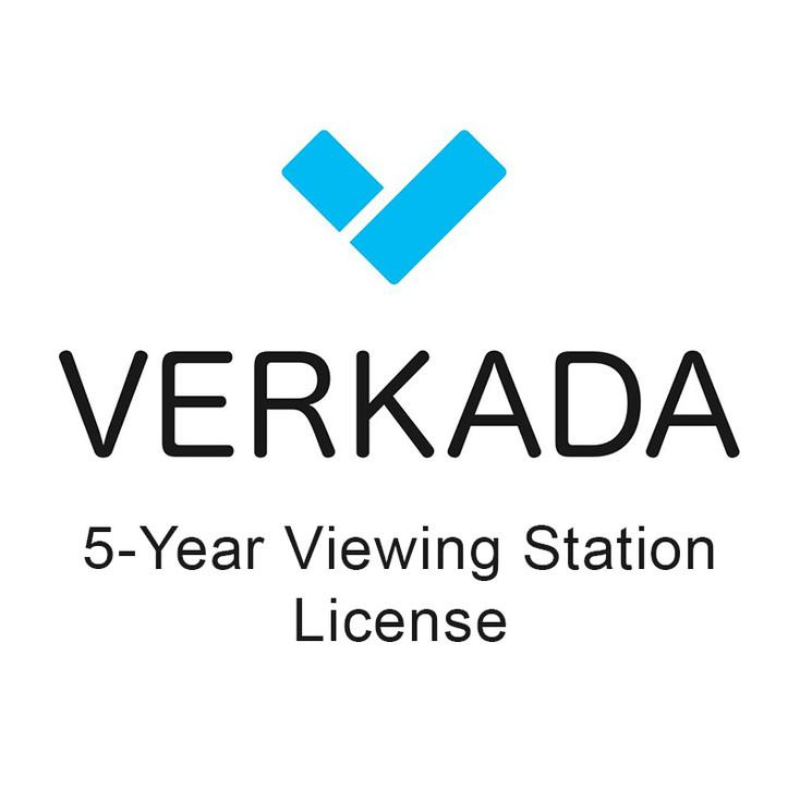 Verkada LIC-VX-5Y 5 Year Viewing Station License