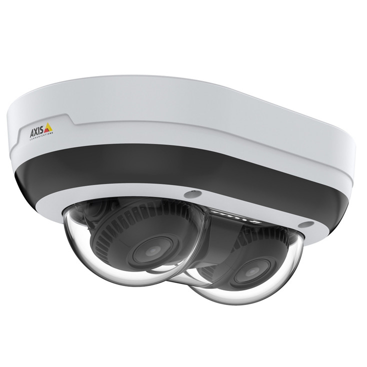 AXIS P3715-PLVE 2x2MP IR Outdoor Multi-sensor IP Security Camera - 01970-001