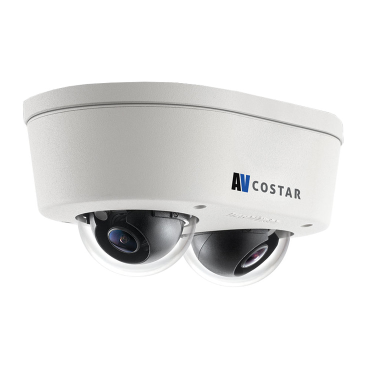 Arecont Vision AV10856DN-28 10MP H.265 Outdoor Multi-sensor Micro Dome IP Security Camera