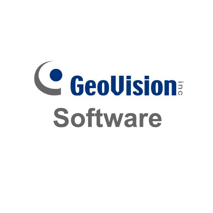 Geovision GV-VMSPRO030 VMS Pro License with 30 Channels 3rd party IP cameras Support