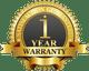 1-Year Limited Manufacturer Warranty