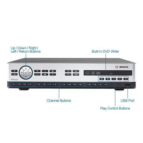 bosch dvr-670-16a201 16ch video recorder