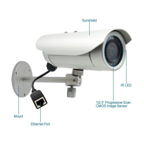 acti e37 10mp outdoor ir bullet ip security camera