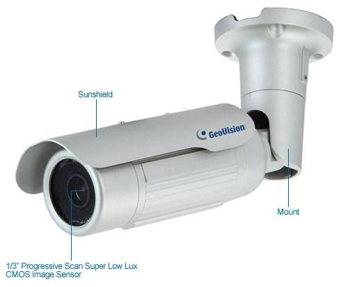 geovision gv-bl1500 1.3mp low lux ir bullet ip camera