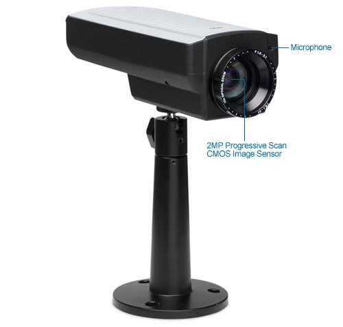 axis q1755 hdtv ip security camera