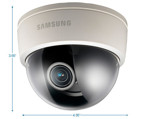 samsung scd-3083 960h dome security camera - wdr