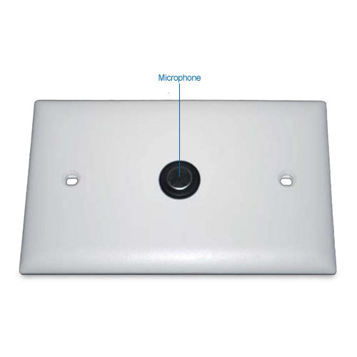 ets sm1 flush mount omni directional surveillance microphone