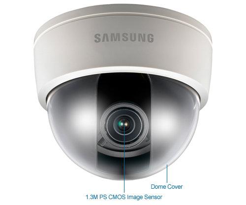 samsung snd-5061 1.3mp hd day/night ip dome security camera