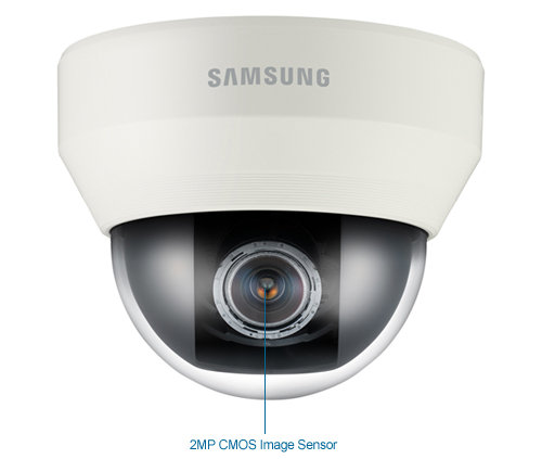 samsung snd-6084 wisenet iii 2mp 1080p full hd ip dome camera